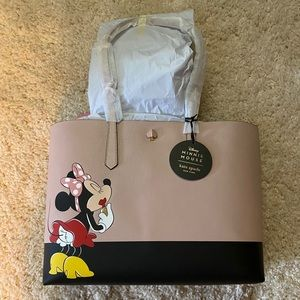 kate spade x minnie mouse large tote